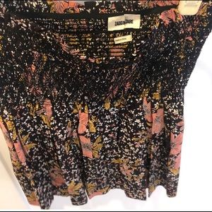 Zadig & Voltaire Skirts - Zadig & Voltaire Floral Silk Mini Skirt